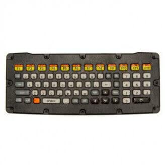 Zebra KYBD-AZ-VC-01 clavier USB AZERTY Belge, Français Noir