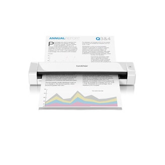 Brother DS-720D scanner 600 x 600 DPI Alimentation papier de scanner Blanc A4