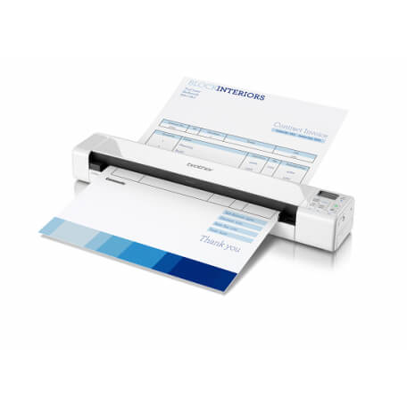 Brother DS-820W scanner 600 x 600 DPI Alimentation papier de scanner Blanc A4