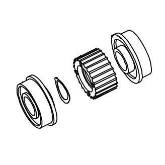 Datamax O'Neil 15-3218-01 pièce de rechange pour équipement d'impression Roller Imprimante d'étiquettes