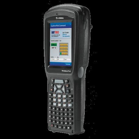 """Zebra WAP4 LONG ALPHA NUM CE 6.0 EN 1D ordinateur portable de poche 9,4 cm (3.7"""") 640 x 480 pixels Écran tactile 526 g Noir"""