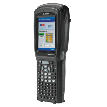 """Zebra WAP4 LONG ALPHA NUM CE 6.0 EN 2D IMG ordinateur portable de poche 9,4 cm (3.7"""") 640 x 480 pixels Écran tactile 526 g Noir"""