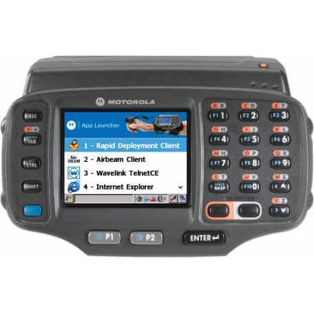 """Zebra WT41N0 ordinateur portable de poche 7,11 cm (2.8"""") 320 x 240 pixels Écran tactile 369,8 g Noir"""