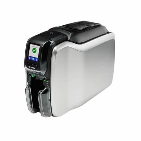 Zebra ZC300 imprimante de cartes en plastique Sublimation de teinte/Transfert thermique Couleur 300 x 300 DPI