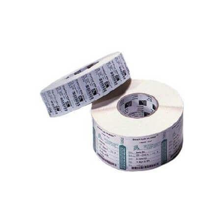 Boîte de 12 rouleaux d'étiquettes direct thermique 102mmx127mm Z-Select 2000D White Zebra 800264-505