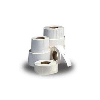 Boîte de 12 rouleaux d'étiquettes direct thermique 57mmx76mm Z-Select 2000D White Zebra 3007209-T