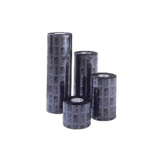 Boîte de 12 rouleaux de rubans encreurs 84mmx 74m Cire Zebra 02300GS08407