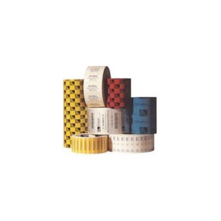 Boîte de 12 rouleaux d'étiquettes transfert thermique 102mmx25mm Z-Select 2000T White Zebra 800274-105
