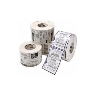 Boîte de 12 rouleaux d'étiquettes transfert thermique 76mmx51mm Z-Select 2000T White Zebra 800273-205