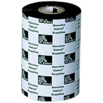 Boîte de 12 rouleaux rubans encreurs transfert thermique 64mmx74m cire/résine Zebra 03200GS06407