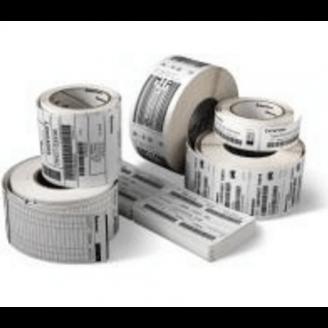 Boîte de 12 rouleaux d'étiquettes direct thermique 102mmx102mm Z-Select 2000D Zebra 800264-405