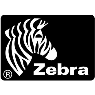Boîte de 12 rouleaux d'étiquettes transfert thermique 76mmx25mm Z-Select 2000T White Zebra 800273-105