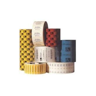 Boîte de 12 rouleaux d'étiquettes transfert thermique 102mmx51mm Z-Select 2000T White Zebra 800274-205