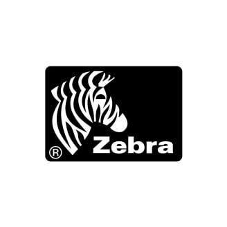Boîte de 12 rouleaux d'étiquettes transfert thermique 51mmx25mm Z-Perform 1000T White Zebra 880007-025D