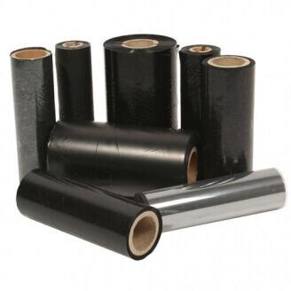 Boîte de 12 rubans encreurs transfert thermique 110mmx450m Cire Zebra 02300BK11045