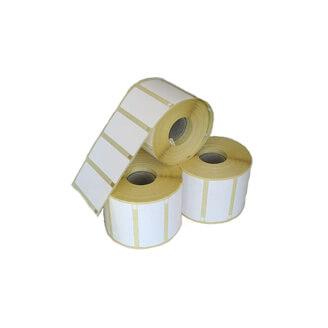 Boîte de 12 rouleaux d'étiquettes direct thermique 38mmx25mm Z-Select 2000D Removable Zebra 800261-107