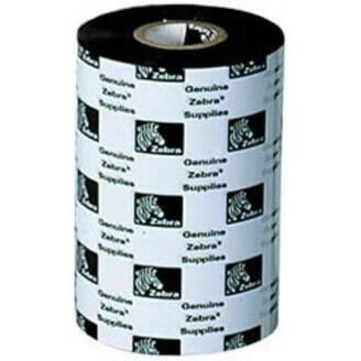 Boîte de 12 rubans encreurs transfert thermique 110mmx300m cire Zebra 02300BK11030