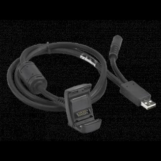 Zebra CBL-TC8X-USBCHG-01 câble USB 2.0 USB A Noir