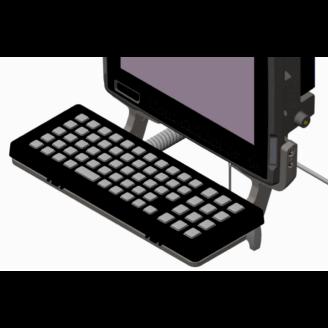 Zebra KT-KYBDTRAY-VC80-R PDA, GPS, téléphone portable et accessoire Noir, Gris