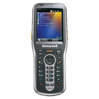 """Honeywell Dolphin 6110 ordinateur portable de poche 7,11 cm (2.8"""") 240 x 320 pixels 247 g Noir, Argent"""