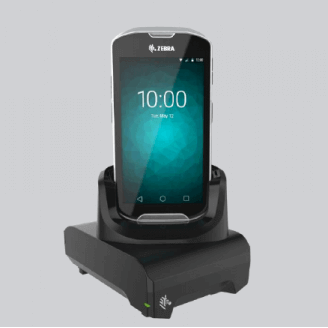 Zebra KT-TC51-ETH1-01 PDA, GPS, téléphone portable et accessoire Noir