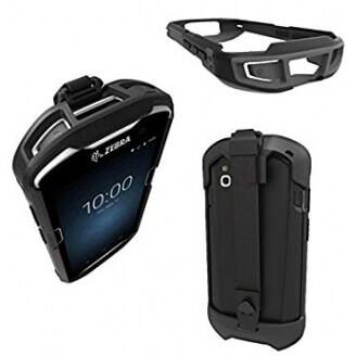Zebra SG-TC5X-EXO1-01 PDA, GPS, téléphone portable et accessoire Emplacement Noir