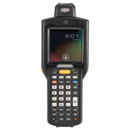 """Zebra MC3200 ordinateur portable de poche 7,62 cm (3"""") 320 x 320 pixels Écran tactile 372 g Noir"""