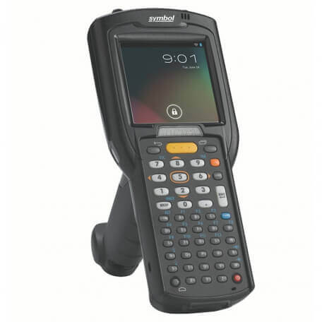 """Zebra MC3200 ordinateur portable de poche 7,62 cm (3"""") 320 x 320 pixels Écran tactile 509 g Noir"""