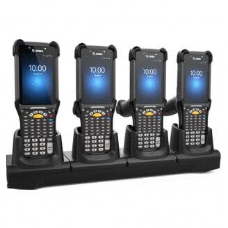 Zebra CRD-MC93-4SCHG-01 chargeur de téléphones portables Intérieur Noir