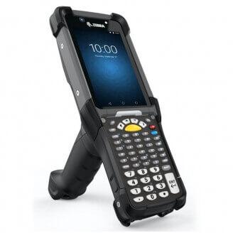 """Zebra MC9300 ordinateur portable de poche 10,9 cm (4.3"""") 800 x 480 pixels Écran tactile 765 g Noir"""