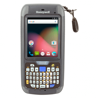 """Honeywell CN75 ordinateur portable de poche 8,89 cm (3.5"""") 480 x 640 pixels Écran tactile 450 g Noir, Gris"""