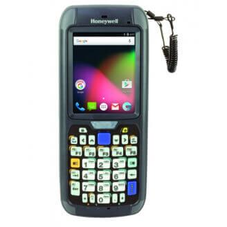 """Honeywell CN75E ordinateur portable de poche 8,89 cm (3.5"""") 480 x 640 pixels Écran tactile 491 g Noir"""