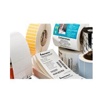 Boîte de 12 rouleaux d'étiquettes transfert thermique 102mmx152mm Duratran I Honeywell I20099