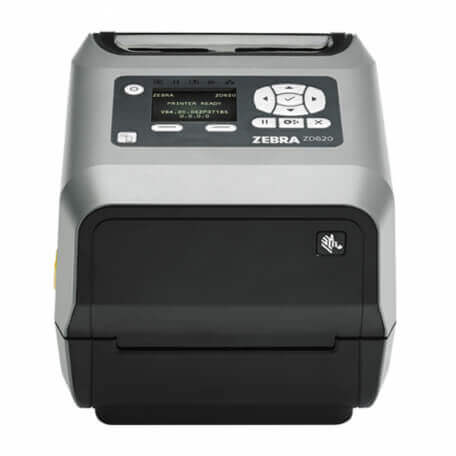 Zebra ZD620 imprimante pour étiquettes Transfert thermique 300 x 300 DPI Avec fil &sans fil
