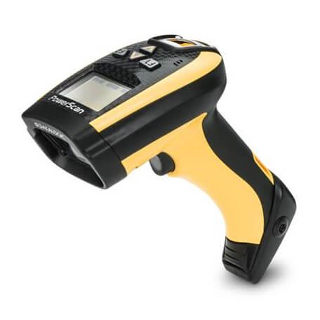 Datalogic PowerScan PM9500-DPM Lecteur de code barre portable 1D/2D Laser Noir, Jaune