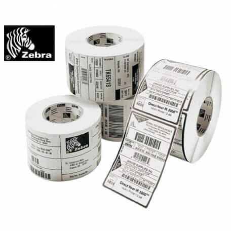Boîte de 6 rouleaux d'étiquettes transfert thermique 89mmx38mm Z-Perform 1000T White Zebra 880022-038