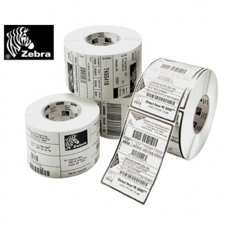 Boîte de 4 rouleaux d'étiquettes transfert thermique 102mmx51mm Z-Perform 1000T White Zebra 880026-050