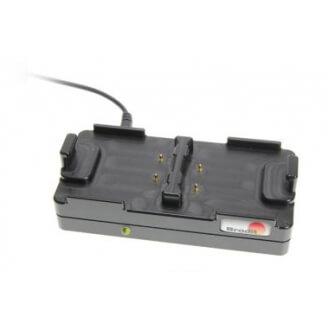 Brodit 215918 PDA, GPS, téléphone portable et accessoire Ensemble de chargeurs de batterie Noir