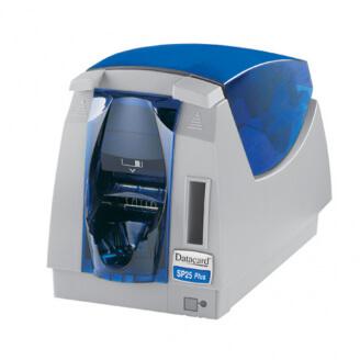 DataCard SP25 Plus imprimante de cartes en plastique Sublimation par la teinture et transfert de résine thermique Couleur 300 x