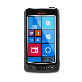 """Honeywell Dolphin 75e ordinateur portable de poche 10,9 cm (4.3"""") 480 x 800 pixels Écran tactile 204 g Noir, Orange, Argent"""