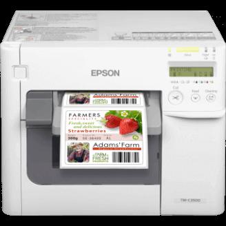 Epson TM-C3500 imprimante pour étiquettes Jet d'encre Couleur 720 x 360 DPI Avec fil