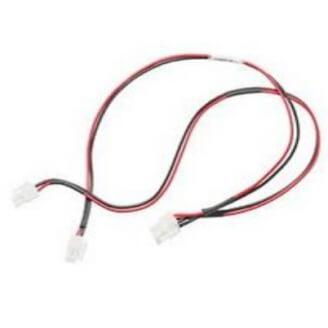 Zebra CBL-DC-393A1-02 câble électrique Noir/Rouge 1 m