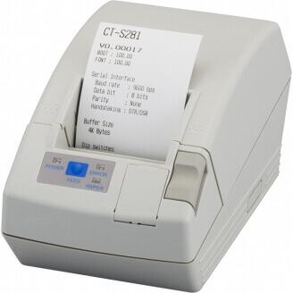 Citizen CT-S281L Thermique directe Imprimantes POS 203 x 203 DPI Avec fil