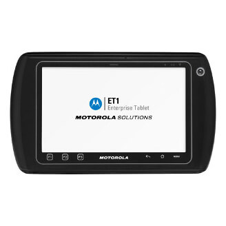 "Zebra ET1 17,8 cm (7"") 1 Go 4 Go Wi-Fi 4 (802.11n) Noir Android"