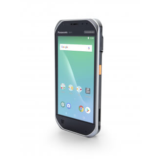 """Panasonic Toughbook FZ-T1 12,7 cm (5"""") Qualcomm Snapdragon 2 Go 16 Go 802.11a Noir, Argent Android 8.1"""