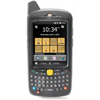 """Zebra MC65 ordinateur portable de poche 8,89 cm (3.5"""") 640 x 480 pixels Écran tactile 359 g Noir"""