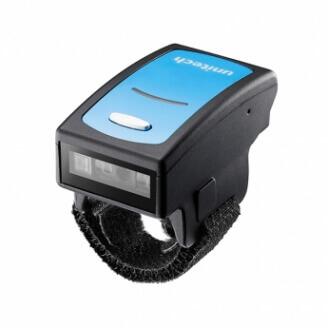 Unitech MS650-5UBB00-SG lecteur de code barres Lecteur de code barre portable 1D LED Noir, Bleu