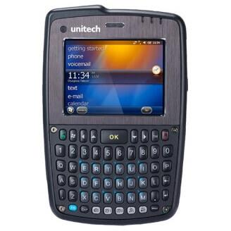 """Unitech PA550 ordinateur portable de poche 7,11 cm (2.8"""") Écran tactile 320 g Noir"""