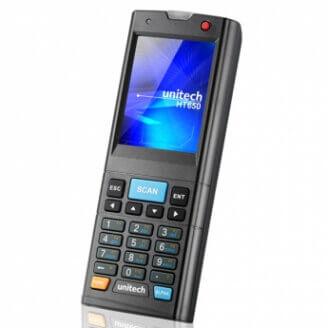 """Unitech SRD650 ordinateur portable de poche 6,1 cm (2.4"""") 240 x 320 pixels Écran tactile 170 g Noir"""