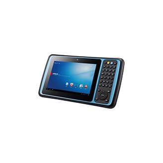 "Unitech TB120 17,8 cm (7"") Texas Instruments 1 Go 8 Go Wi-Fi 4 (802.11n) Noir Android"